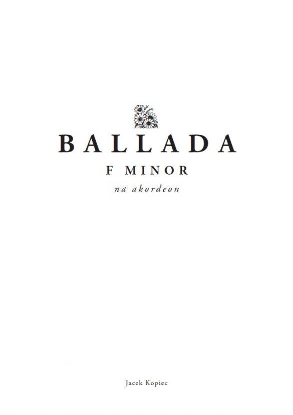 Ballada f minor (2017)