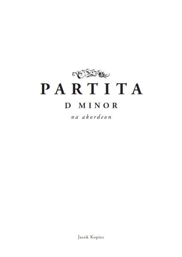 Partita d minor (2017)